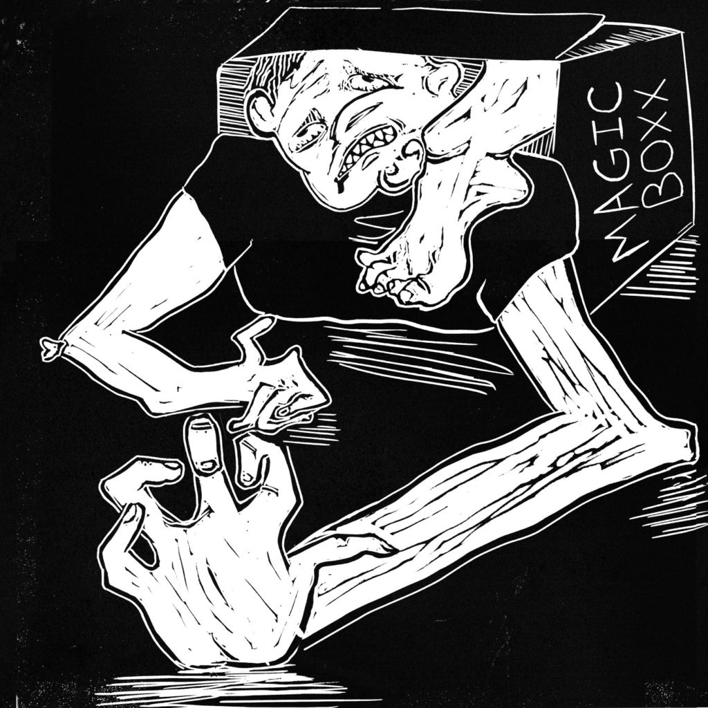 illustration, linocut, lino, n ronke, the nosleep podcast, nosleep, horror